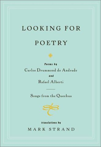 Looking for Poetry_Carlos Drummond de Andrade